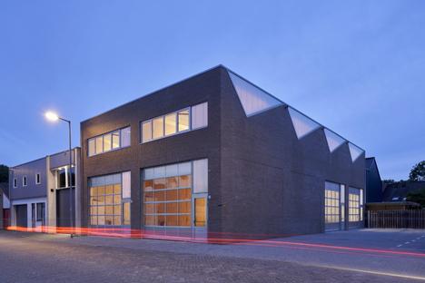 Architettura industriale sostenibile di derksen|windt architecten