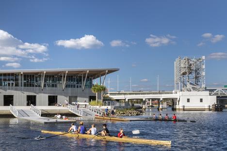 Julian B. Lane Riverfront Park a Tampa di Civitas e W, American Architecture Awards 2019