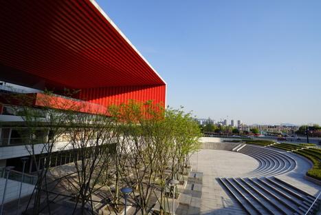 Yiwu Cultural Square, un palcoscenico pubblico di UAD