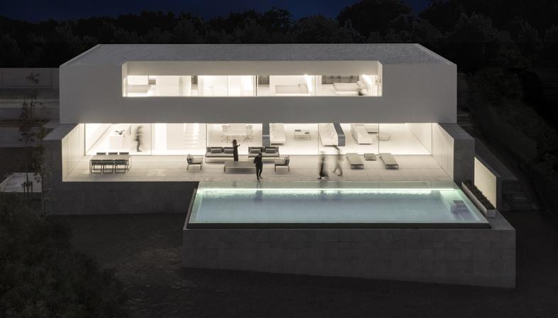 Casa a Santa Pola di Fran Silvestre Arquitectos