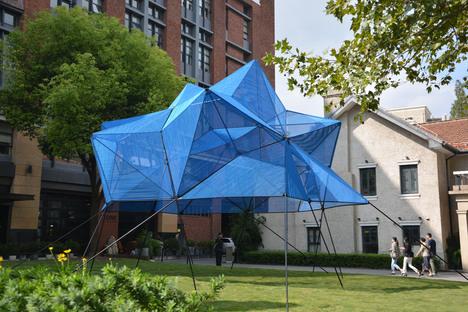 Atelier YokYok, installazione Cobalt Muffin