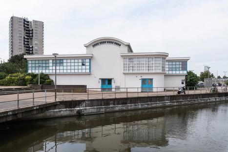 Architettura industriale a Rotterdam, l'acquedotto