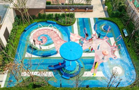 Seahorse, un parco acquatico di 100architects a Chongqing