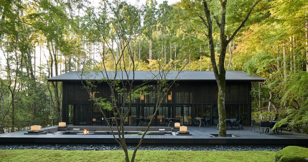 Aman Kyoto, resort in un vecchio giardino dimenticato