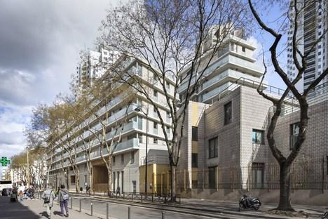 Curial, densità a Parigi, progetto di Petitdidierprioux