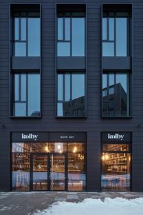 Kolby Wine Bar di CMC Architects a Praga