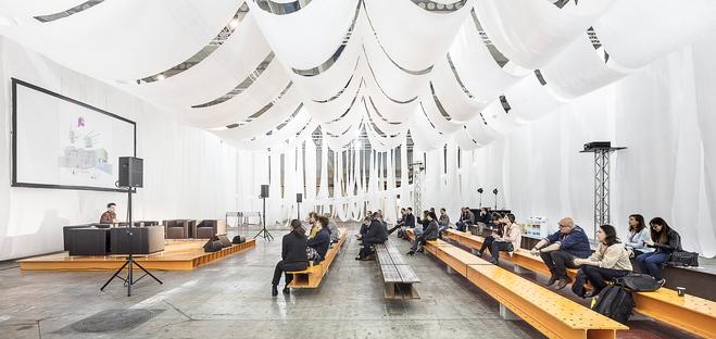 L'economia circolare in un'installazione sostenibile di Josep Ferrando Architecture