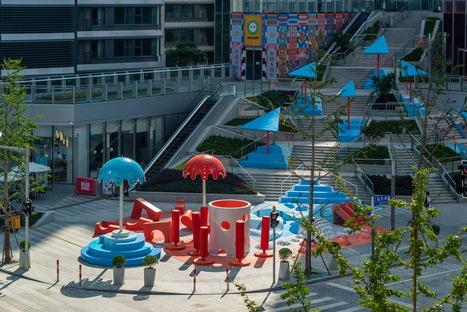 Crystal Pool di 100architects o come attivare lo spazio pubblico