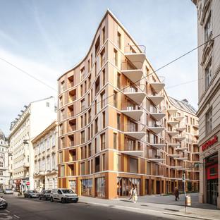 Dialogo con la storia a Vienna, Renngasse 10 di 3XN