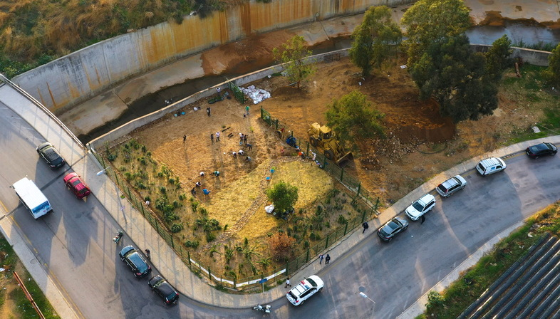 Beirut RiverLESS Urban Forest o come rigenerare una città