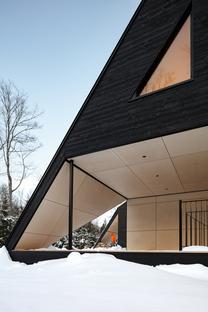 Cabin A, un'architettura da amare, di Bourgeois / Lechasseur architects