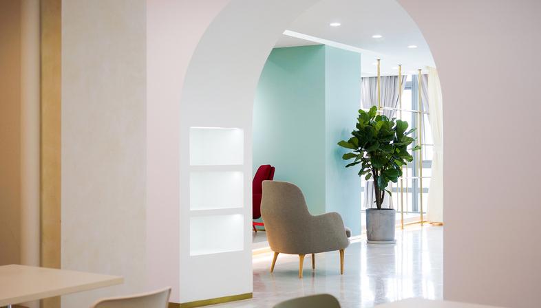 Ruhnn Culture Office di inDeco, ambienti per influencer