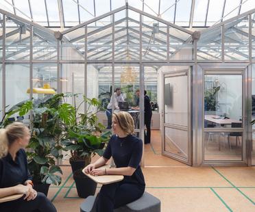 The Core, da garage a uffici, trasformazione di CBRE ad Amsterdam
