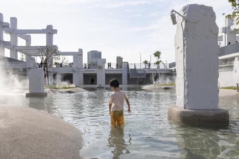 Tainan Spring, una laguna urbana a Taiwan di MVRDV