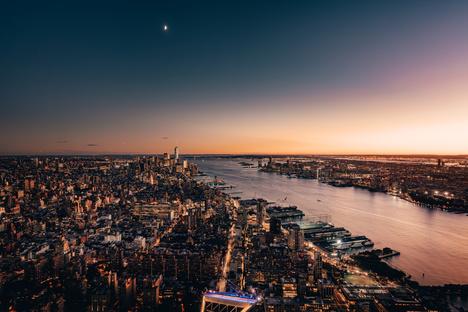 Vista panoramica: Edge a Hudson Yards New York