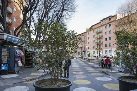 Lo sguardo di Matteo Cirenei sui quartieri milanesi un anno fa