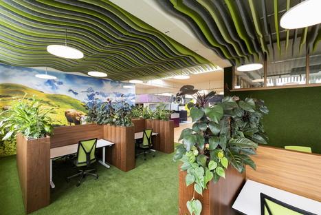 6280.CH uno spazio di coworking progettato da Evolution Design