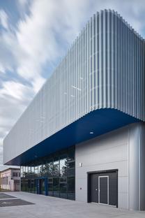 ellement architects per il nuovo stabilimento Pilana Karbid