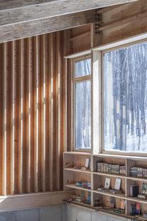 Camp O House di Maria Milans Studio, lavorare e vivere nella natura