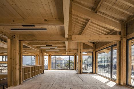 LUO Studio, un centro per la comunità a Yuanheguan