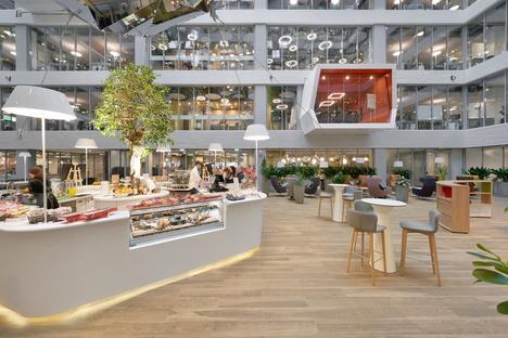 Evolution Design firma i nuovi headquarter di Sberbank a Mosca