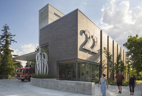 Weinstein A+U e la nuova caserma 22 dei vigili del fuoco di Seattle