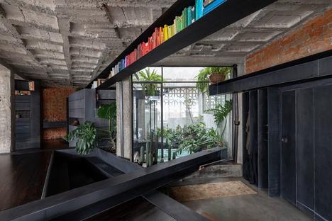 A Forest, un progetto di interior di Aquiles Jarrín