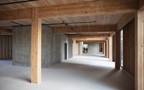 Skylab firma Sideyard, un edificio per rinforzare le dinamiche del quartiere a Portland
