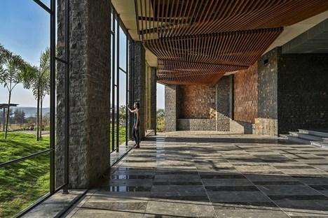 India, Aria Hotel di Sanjay Puri Architects