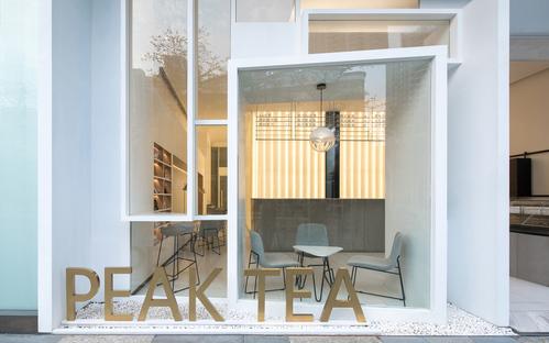 Peak Tea, uno spazio tra interno ed esterno di ONEXN Architects