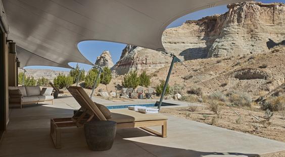 Camp Sarika di Amangiri, ritirarsi nella wilderness dello Utah