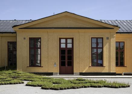 Installazione INFIELD di Linda Tegg a Stoccolma