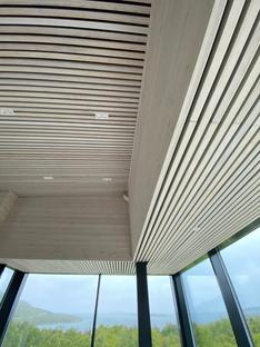 Senja, un rifugio in Norvegia di Bjørnådal Arkitektstudio