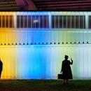 Thermally Speaking, installazione di luce di LeuWebb Projects per CITYLights Toronto