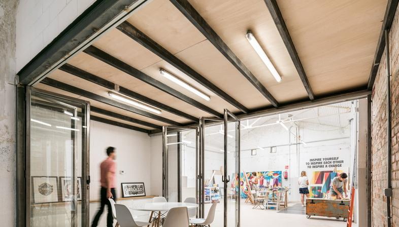 La nuova sede del collettivo Boa Mistura a Madrid