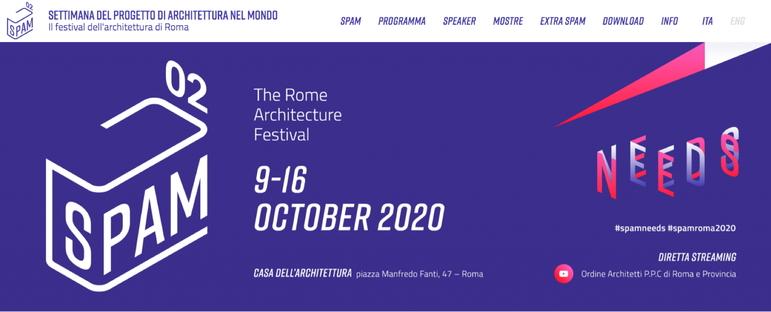 Seconda edizione della Settimana del progetto di architettura nel mondo a Roma