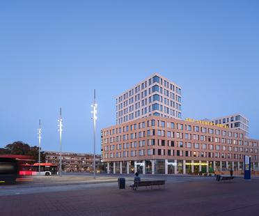 The Student Hotel di Delft, soggiorno sostenibile firmato KCAP