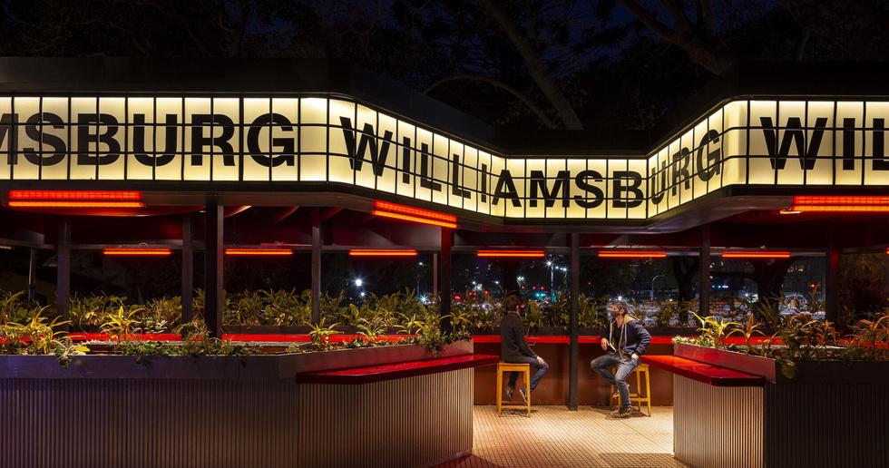 Williamsburg di Hitzig Militello, convivialità ai tempi di COVID-19