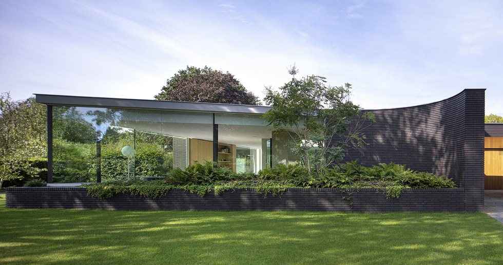 Outside In, una villa di i29 e Bedaux de Brouwer architecten