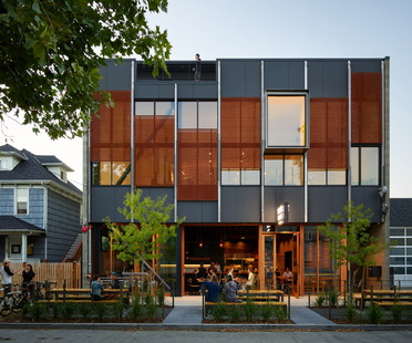 Klotski di Graham Baba Architects, mixed-use sostenibile a Seattle