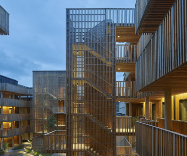 Qvillestaden di Bornstein Lyckefors, housing sostenibile in legno