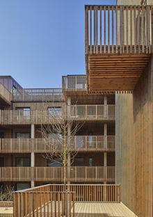 Qvillestaden di Bornstein Lyckefors, housing sostenibile in legno