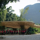 Spettacolo teatrale e naturale a Yangshuo