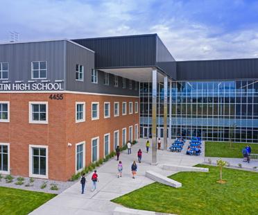 Una scuola come un centro città, Gallatin High School