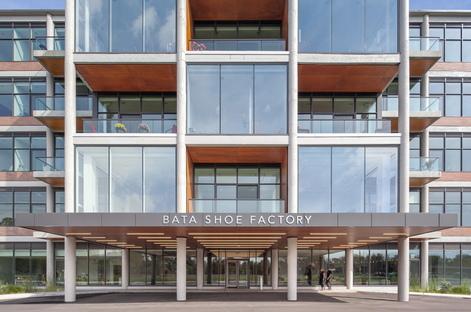 Da calzaturificio a edificio sostenibile e multi-uso