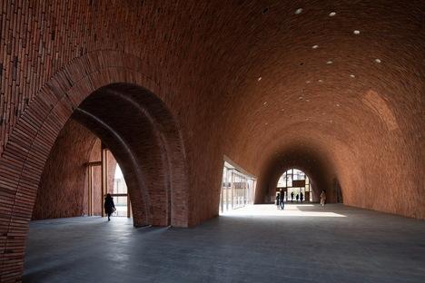 Imperial Kiln Museum di Studio Zhu-Pei, matericità storica