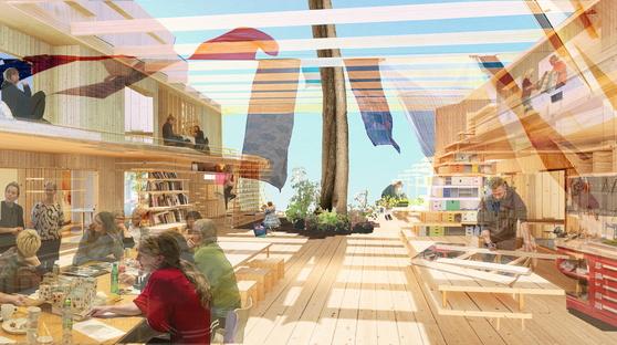 Biennale di Architettura 2021, il Padiglione Nordico come cohousing sperimentale