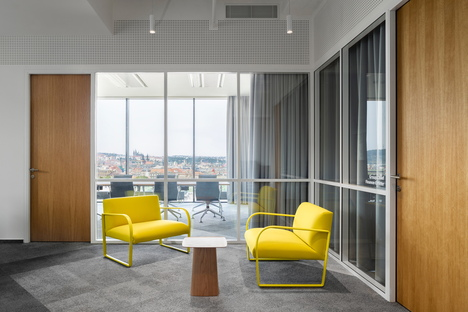 Studio Perspektiv disegna gli uffici di FEG a Praga