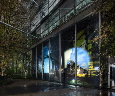 Night into Day di Sarah Sze alla Fondation Cartier