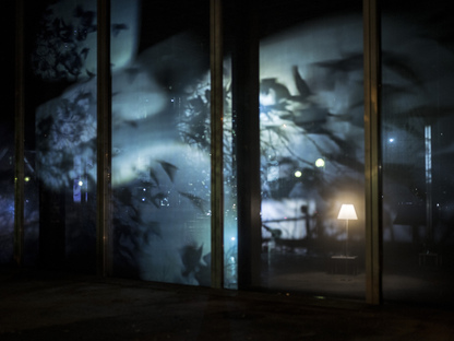 Night into Day di Sarah Sze alla Fondation Cartier